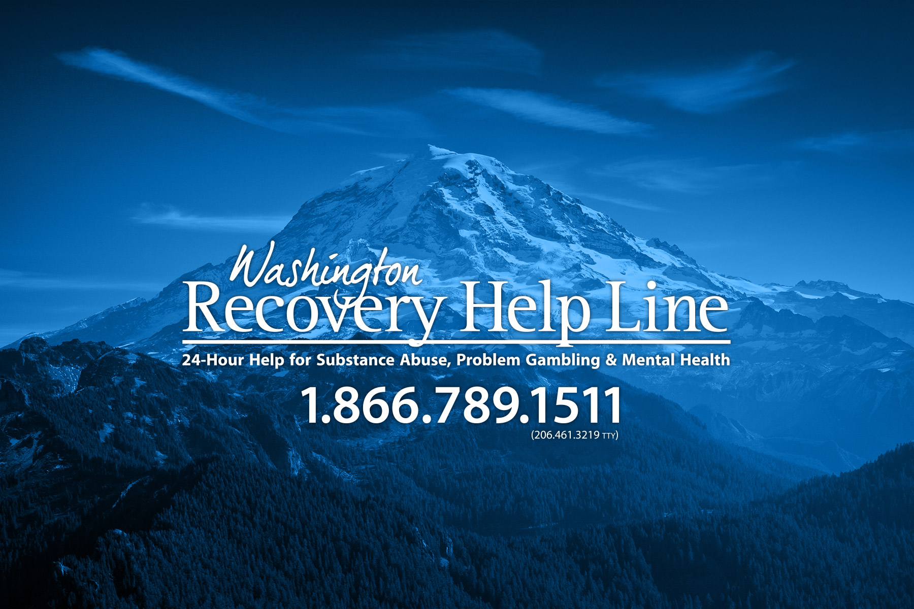 Washington Recovery Help Line